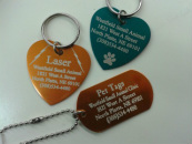 Dog tags engraved