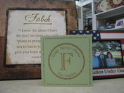 Picture frames and plaques